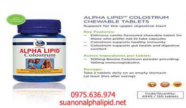 Alpha-Lipid-Colostrum-Chewable-Tablets
