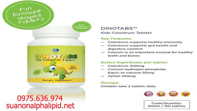 Alpha Lipid Dinotabs