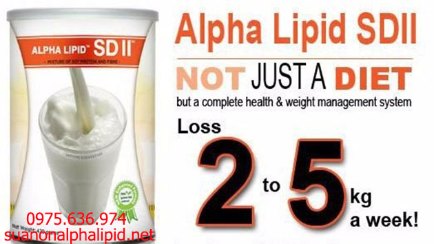 Alpha Lipid SD2 - phương pháp giảm cân tự nhiên