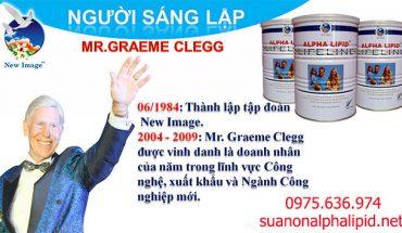 Mr. Graeme Clegg - người sáng lập tập đoàn New Image