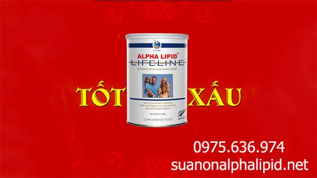 Sữa non alpha lipid tốt hay xấu?